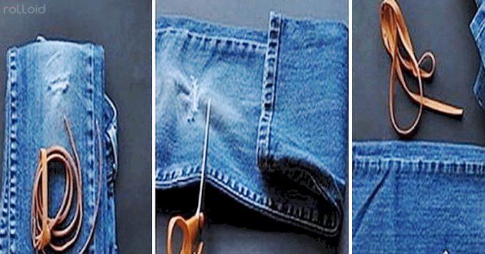 trucos reciclar viejos pantalones vaqueros