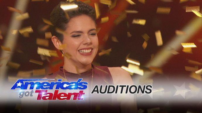 Una chica de 16 años superviviente de cáncer, se ganó el Golden Buzzer en American's Got Talent