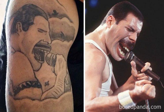 22 Terribles tatuajes llevados a la realidad que fallaron estrepitosamente