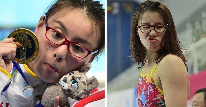 Internet se ha vuelto loco con las reacciones de esta Nadadora Olimpica banner