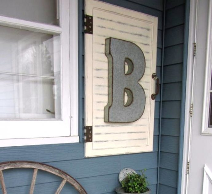 Decora tu hogar reutilizando los viejos paneles de tus armarios y despensas