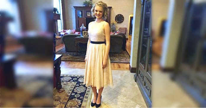 esta chica es humillada en su escuela por llevar un vestido de encaje a su baile de promocion banner