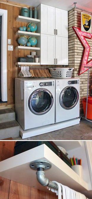 10 Ideas sencillas y brillantes para ahorrar espacio en tu casa