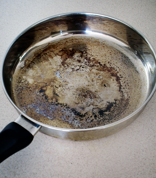 http://www.apartmenttherapy.com/how-to-clean-burnt-pots-scorched-pans-140547