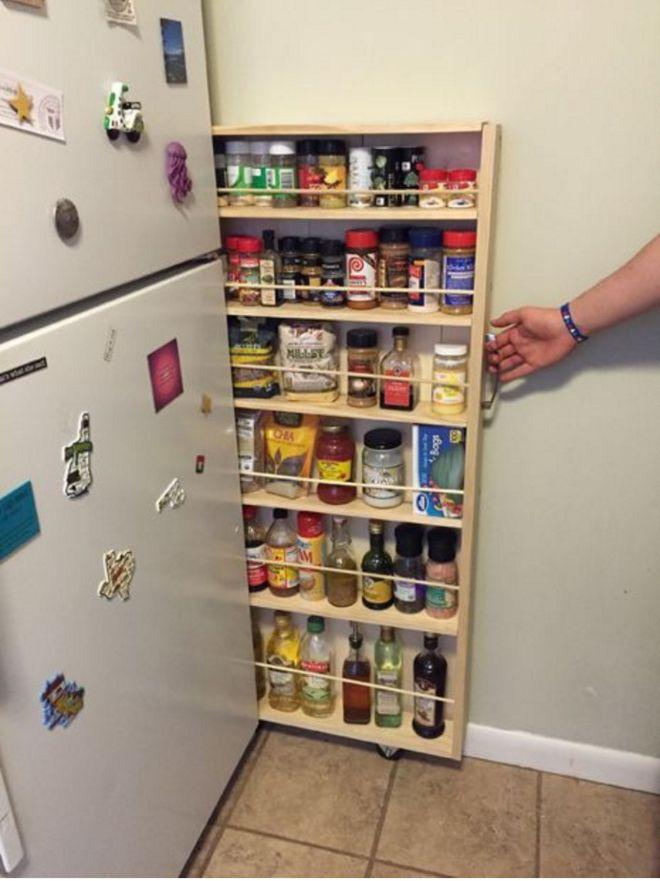 13 Trucos para transformar y ahorrar el máximo de espacio en tu mini-cocina