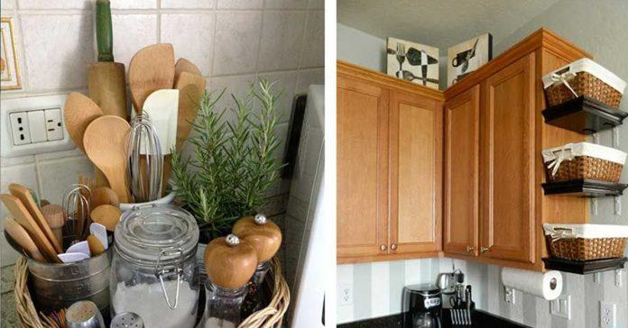13 consejos de almacenamiento que te haran tener mas espacio en tu cocina banner