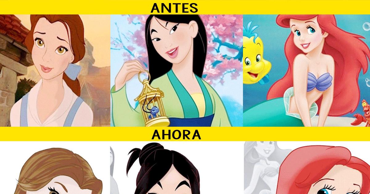 12 Imágenes De Las Princesas Disney Si Hubiesen Envejecido Con Sus Películas