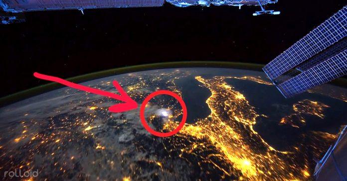 camara estacion espacial internacional aurora boreal