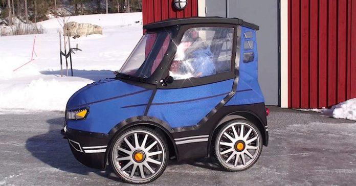 coche miniatura bicicleta