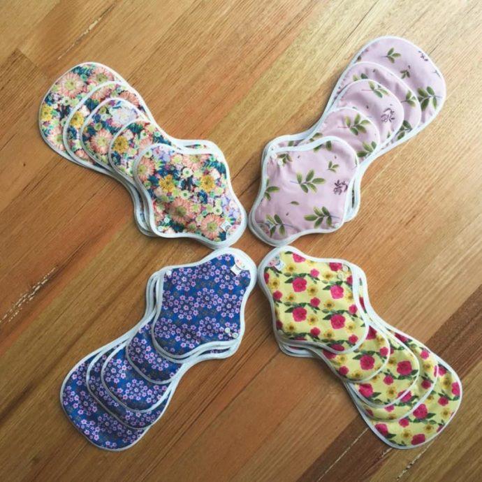 Descubre los HannahPads. Puedes lavar estas compresas y reutilizarlas durante 3 años
