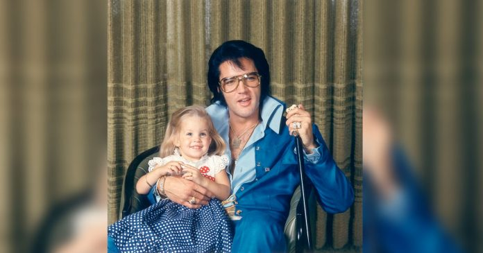 elvis presley and lisa marie presley sing in the ghetto featured