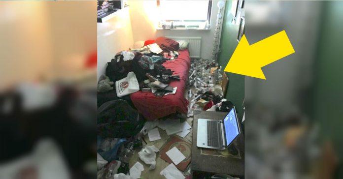 esta mujer hizo una foto de su desordenada habitacion para mostrar los efectos de la depresion banner