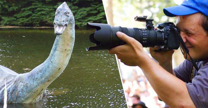 un fotografo toma la imagen mas clara del monstruo del lago ness en su historia banner