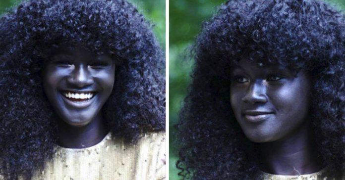 diosa de la melanina revoluciona internet con su hermosa piel oscura banner