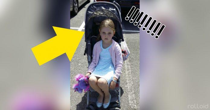 epica respuesta de una madre a todos los que decian que su hija era demasiado grande para un carrito banner