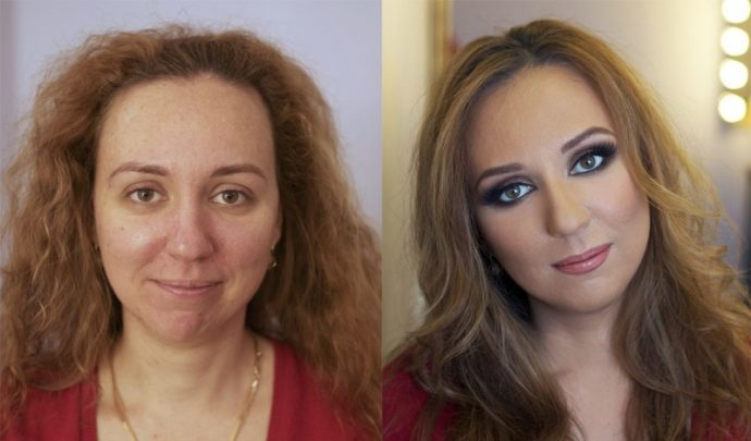 17 Imágenes que muestran el punto al que se puede engañar con el maquillaje