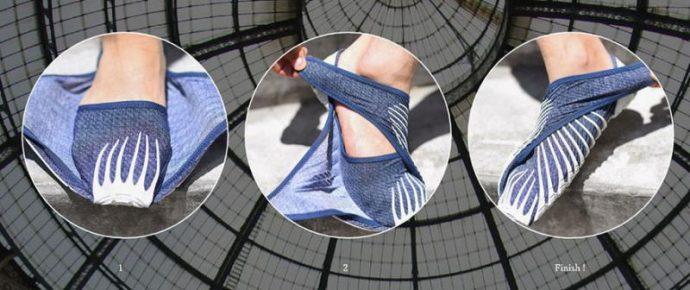 Unos nuevos zapatos japoneses ponen patas arriba Internet al no tener cordones