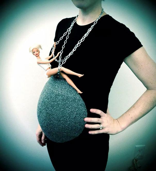 Los 20 disfraces para embarazadas más creativos que hayas visto nunca