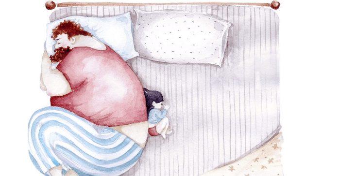 vinculo padres hijas conmovedoras imagenes ilustraciones