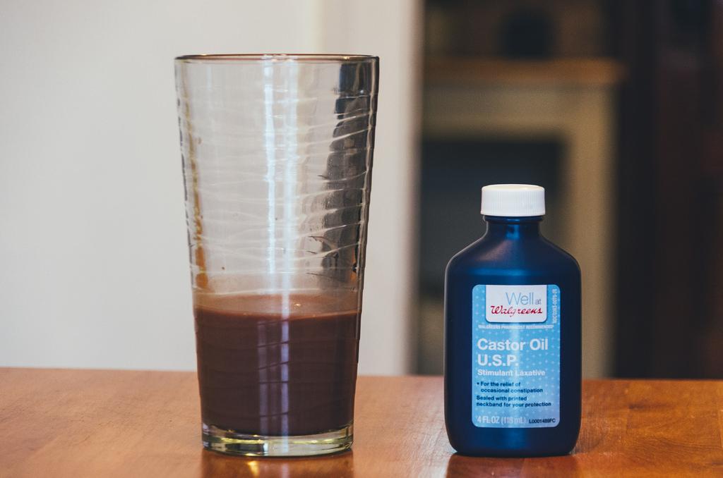 castor oil photo