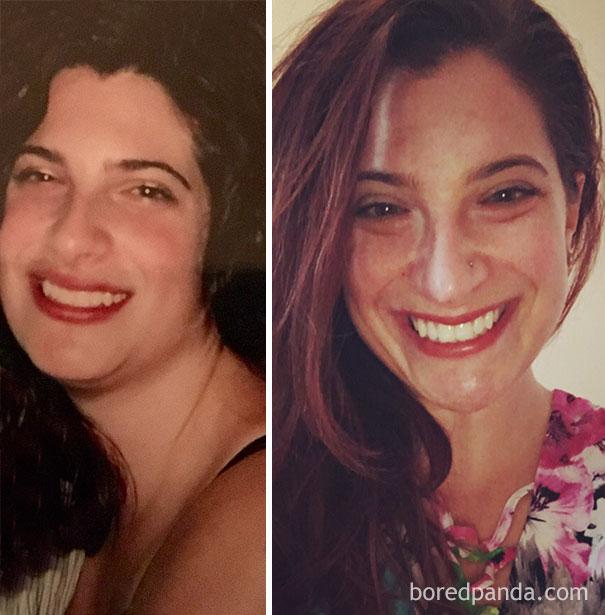 20 Imágenes chocantes que muestran el giro radical antes y después de dejar de beber