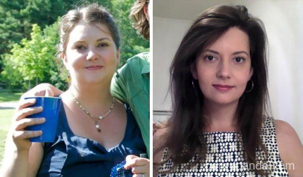 20 Imágenes virales del antes y después de dejar la bebida