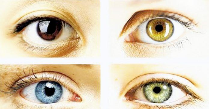 color ojos personalidad