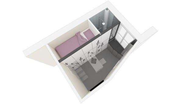 Una chica se viraliza al dar un giro radical a su sucio apartamento de 20 metros cuadrados
