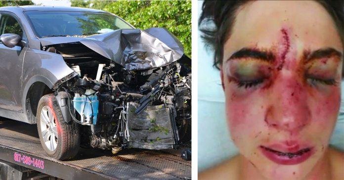 despues de tener un accidente por usar el movil mientras conducia ahora comparte su historia para crear mayor conciencia social sobre este problema banner