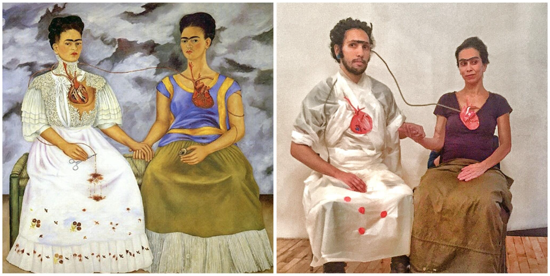 Dos trabajadores aburridos deciden convertir su oficina en una galería de arte