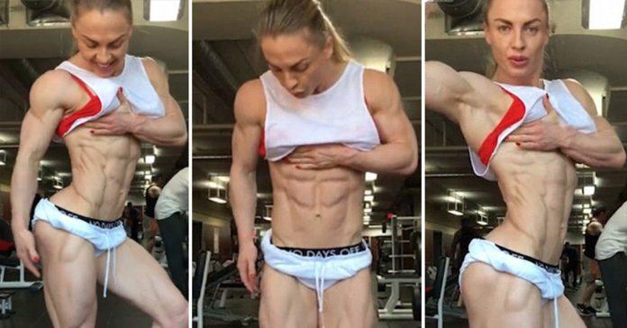 el cuerpo de una mujer con 0 de grasa que esta provocando debate en internet banner