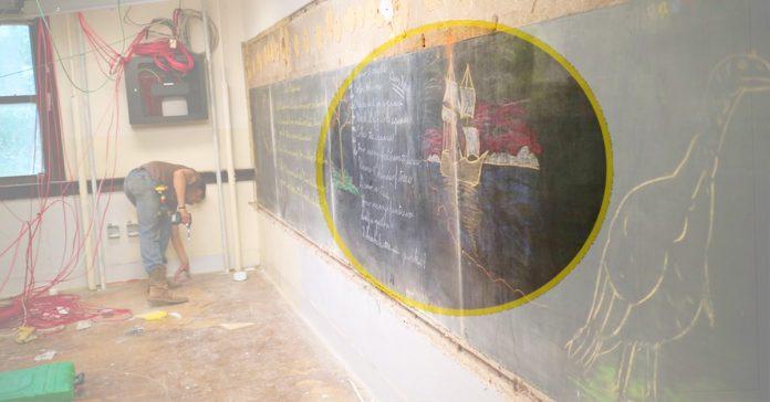 estaban reformando un colegio cuando hicieron un increible e historico descubrimiento banner