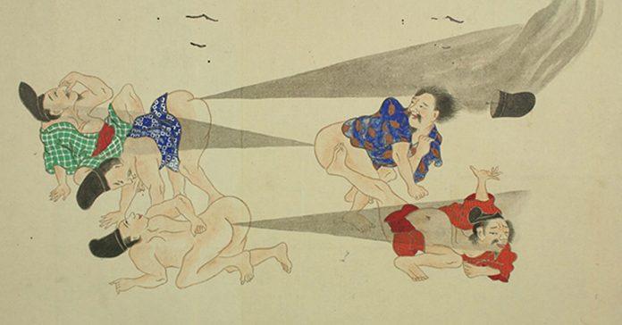 estas imagenes de las batallas japonesas de pedos banner