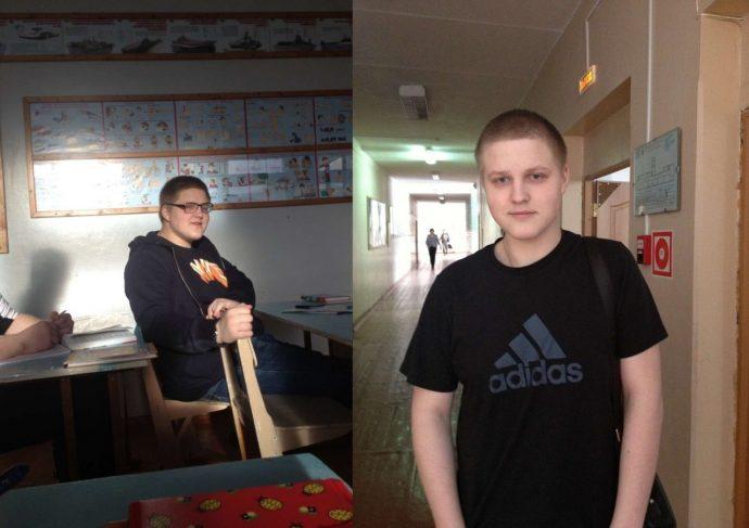 Este joven amputado entrena duro para convertirse en atleta paralímpico y se ha convertido en un modelo a seguir