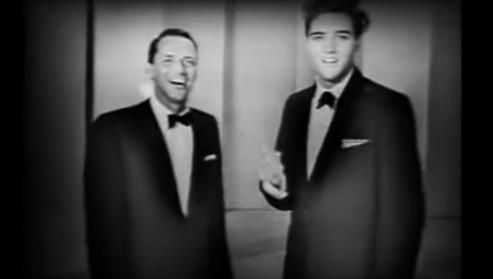 Este cortometraje muestra a Elvis Presley y Frank Sinatra cantando un dueto