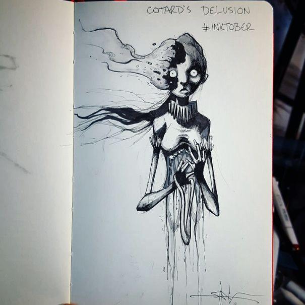 Las impactantes ilustraciones de este artista no te dejarán indiferente...