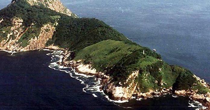 las personas tienen prohibido pisar esta isla banner