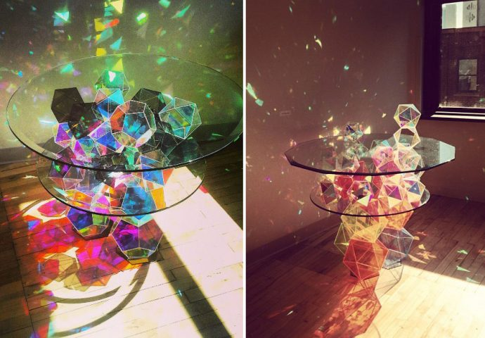 18 Diseños de mesas nunca vistos que dejan a muy pocos indiferentes