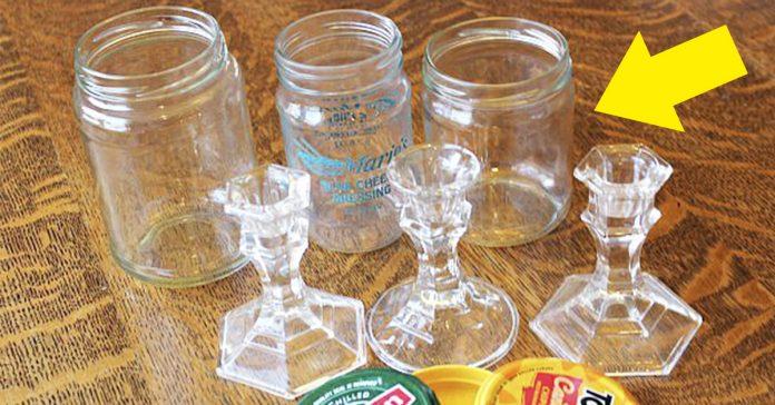 reciclar botes de cristal banner