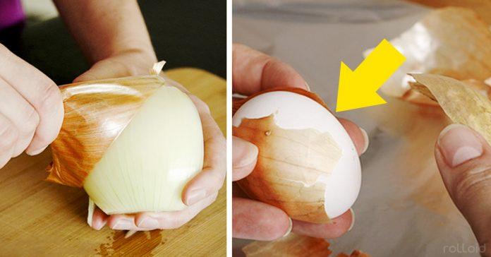 reutilizar la piel de las cebollas