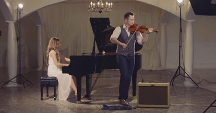 violin pareja aleluya