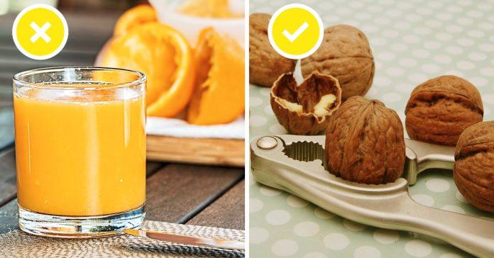 15 alimentos que debes y no debes comer con el estomago vacio banner