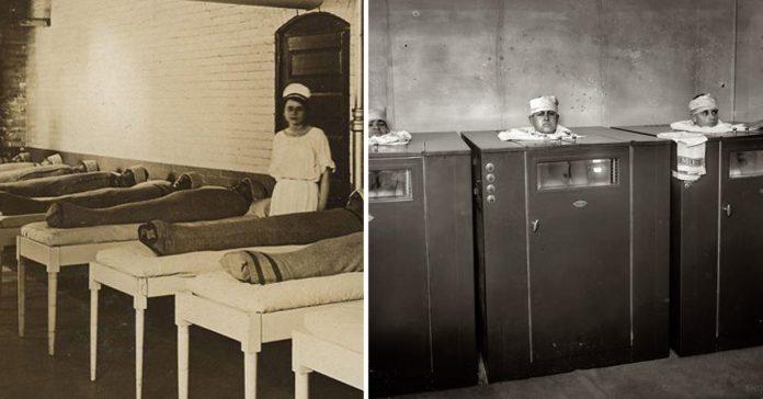 15 imagenes de los horribles tratamientos medicos de la vieja escuela banner