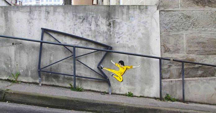 20 originales muestras de arte callejero que seguro te sacan una sonrisa banner 1