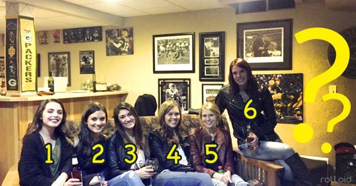 6 chicas 5 pares piernas imagen viral banner