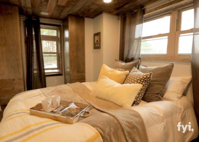El interior de esta cabaña de menos de 40 metros cuadrados ha revolucionado a Internet