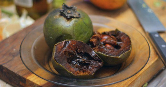 el zapote negro una fruta con sabor y textura de chocolate banner