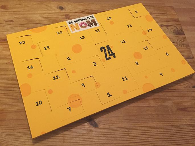 Este calendario de adviento de queso es mucho mejor que uno de chocolate