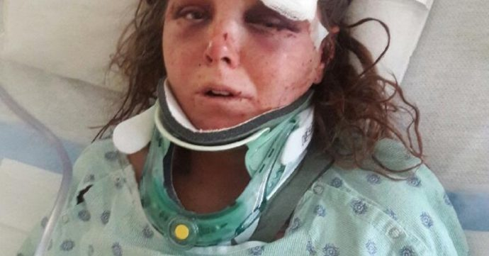 Este hombre intentó maltratar a su novia después de emborracharse, pero sus amigos pudieron impedirlo