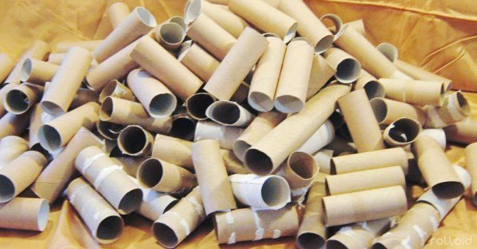 ideas reutilizar cartones rollos papel higienico